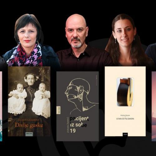 Odabrali smo pet finalista književne nagrade tportala