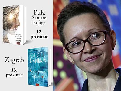 Guzel Jahina, autorica romana Zulejha otvara oči i Volgina djeca dolazi u Pulu i Zagreb