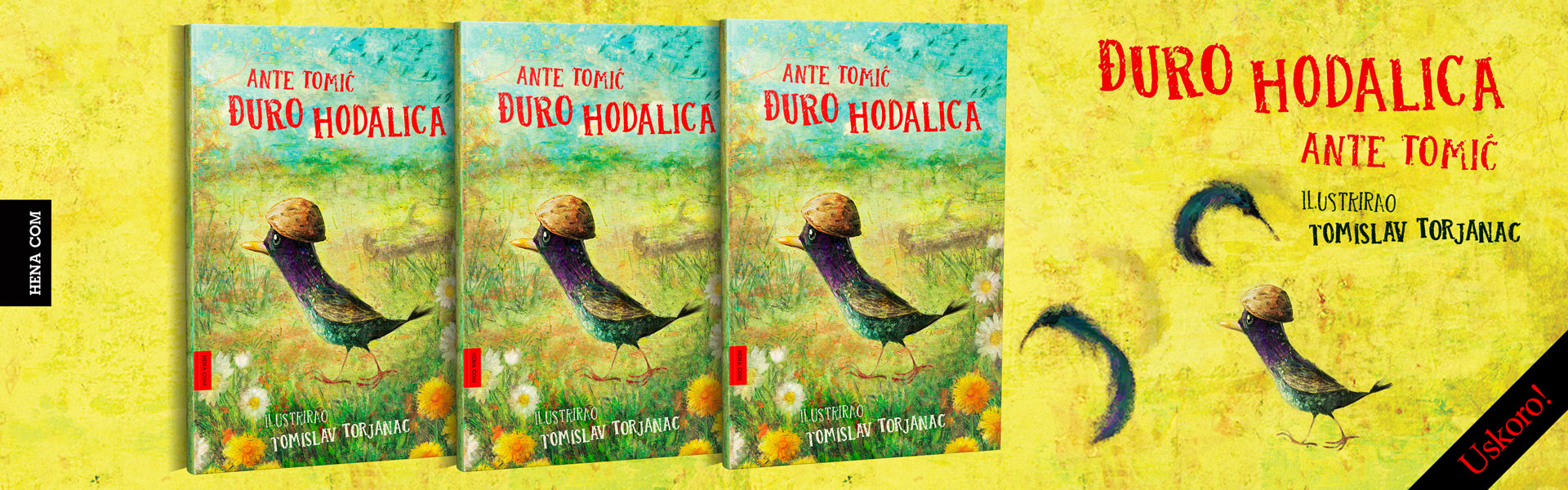 Ilustrirana knjiga za djecu Đuro Hodalica, autor Ante Tomić, ilustrirao Tomislav Torjanac