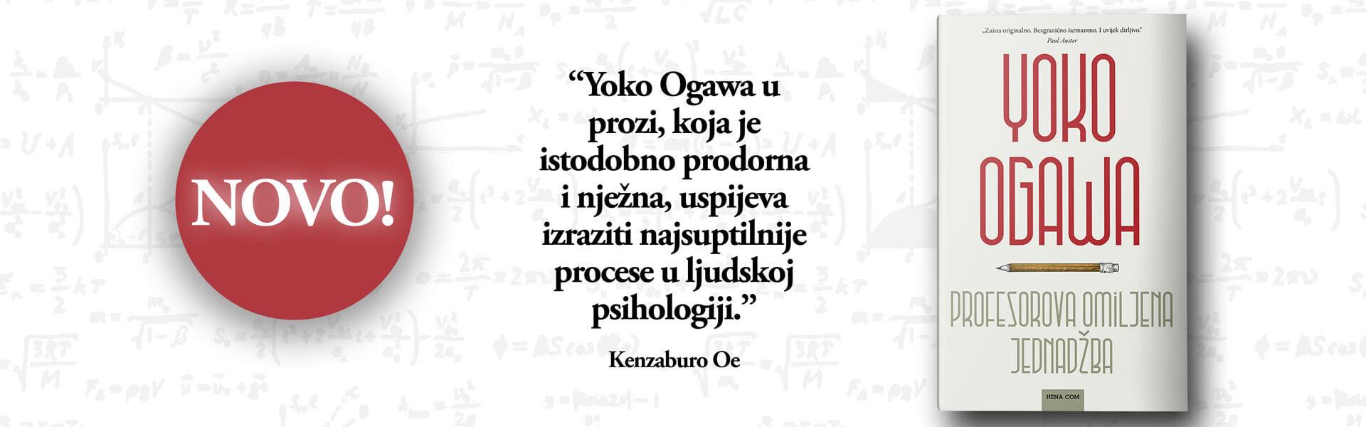 Yoko Ogawa, Profesorova omiljena jednadžba