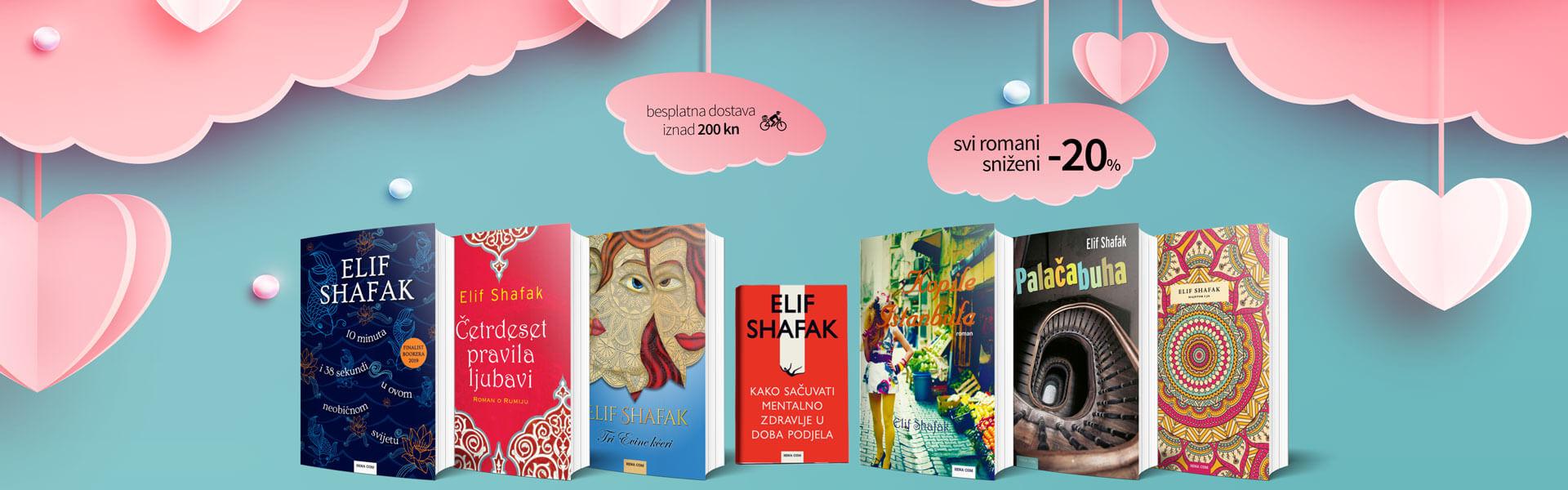 Čitajte knjige koje se pamte, čitajte Elif Shafak!